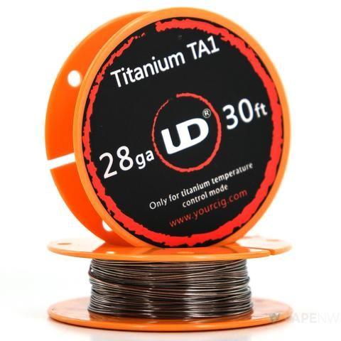 UD Roll Wire TITANUM TA1 28GA (0,3mm), 30ft
