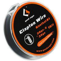 GeekVape CLAPTON Wire Kanthal KA1 (28GA x 2 + 32GA), 5m