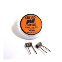 Stif Meister FUSED CLAPTON Coils 2*28GA/38GA N80/N80, 0,75ohm - 2 pcs Hand made