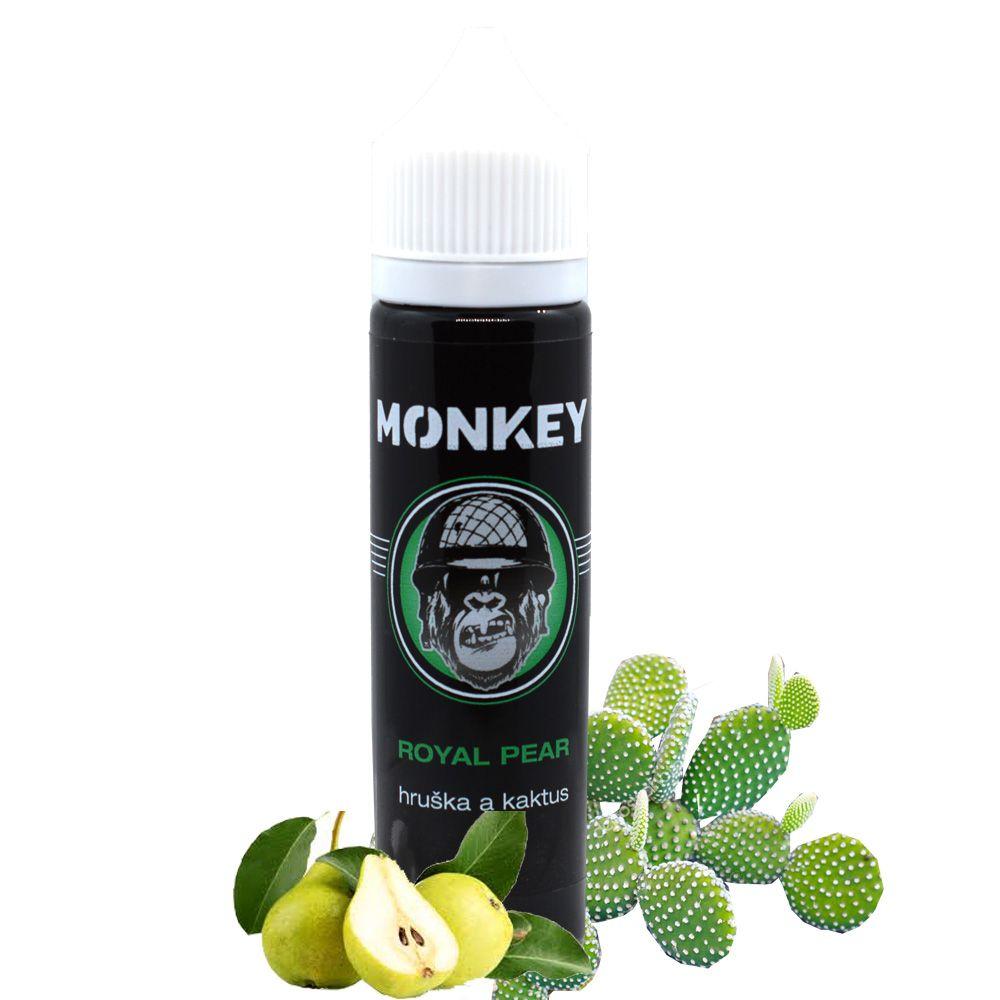 ROYAL PEAR - Hruška a kaktus - Monkey shake&vape 12ml Monkey liquid s.r.o.