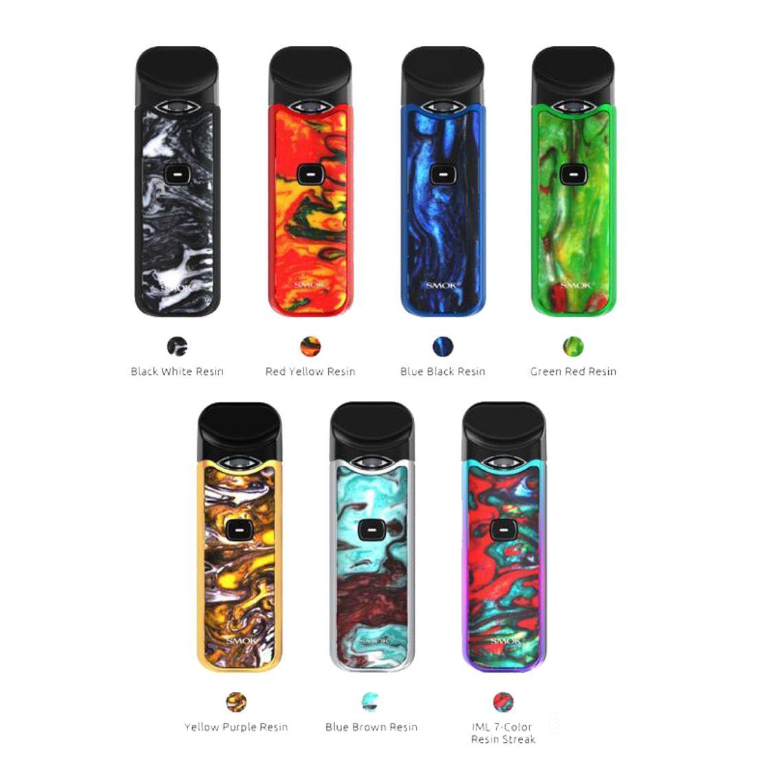 SMOK Nord POD Kit 1100mAH Resin Color - Smoktech