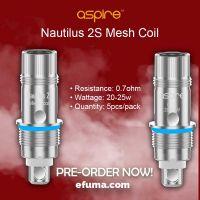 Aspire Nautilus 2S 0,7Ω Mesh - Replacement Heating Head