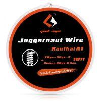 GeekVape JUGGERNAUT Wire Kanthal A1  (28GA+38GA)x2+Ribbon(38GAx24GA), 3m