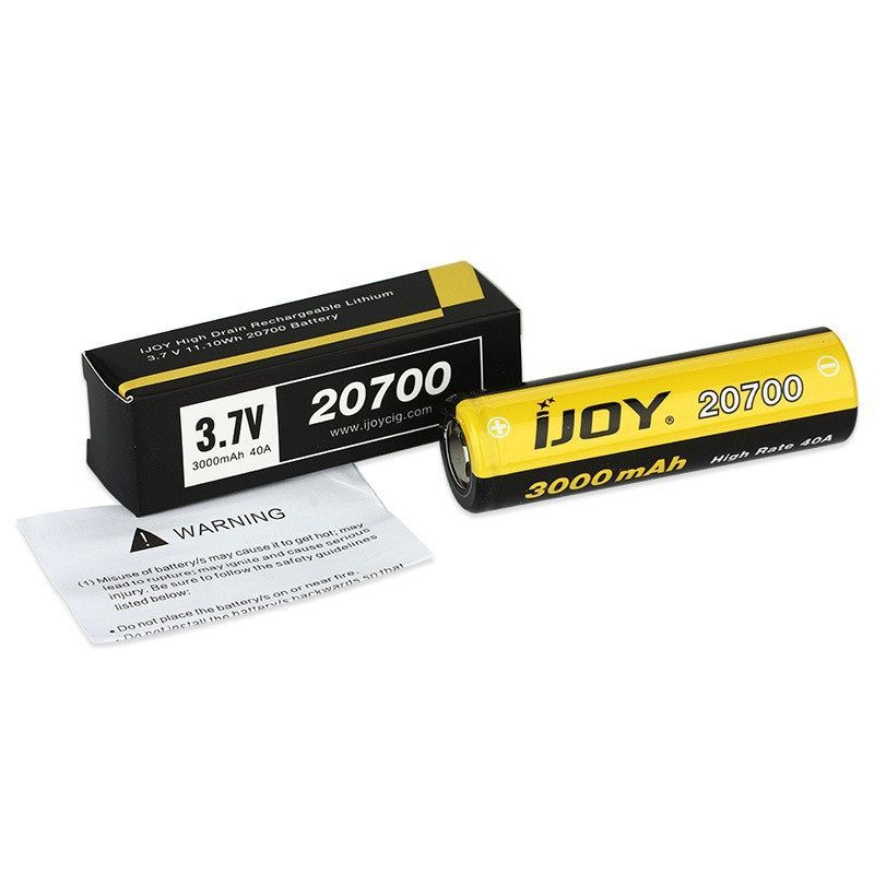 IJOY 20700 Battery 3000mAh - 40A