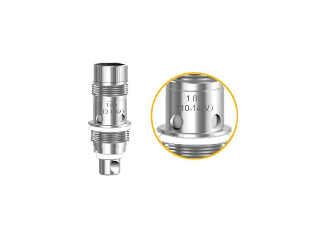 Replacement Heating Head BVC for Aspire Nautilus AIO POD - 1,8ohm