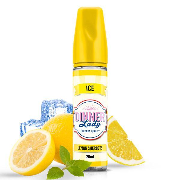 LEMON SHERBETS ICE - shake&vape Dinner Lady Fruits 20 ml