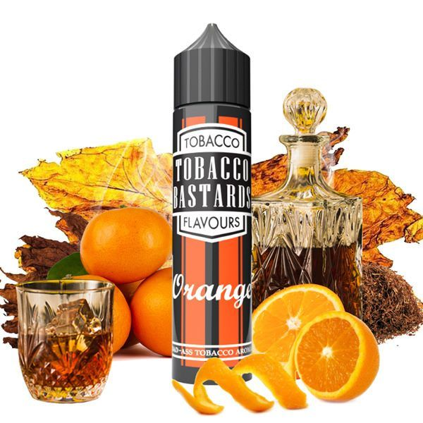 ORANGE TOBACCO - shake&vape Flavormonks 10 ml