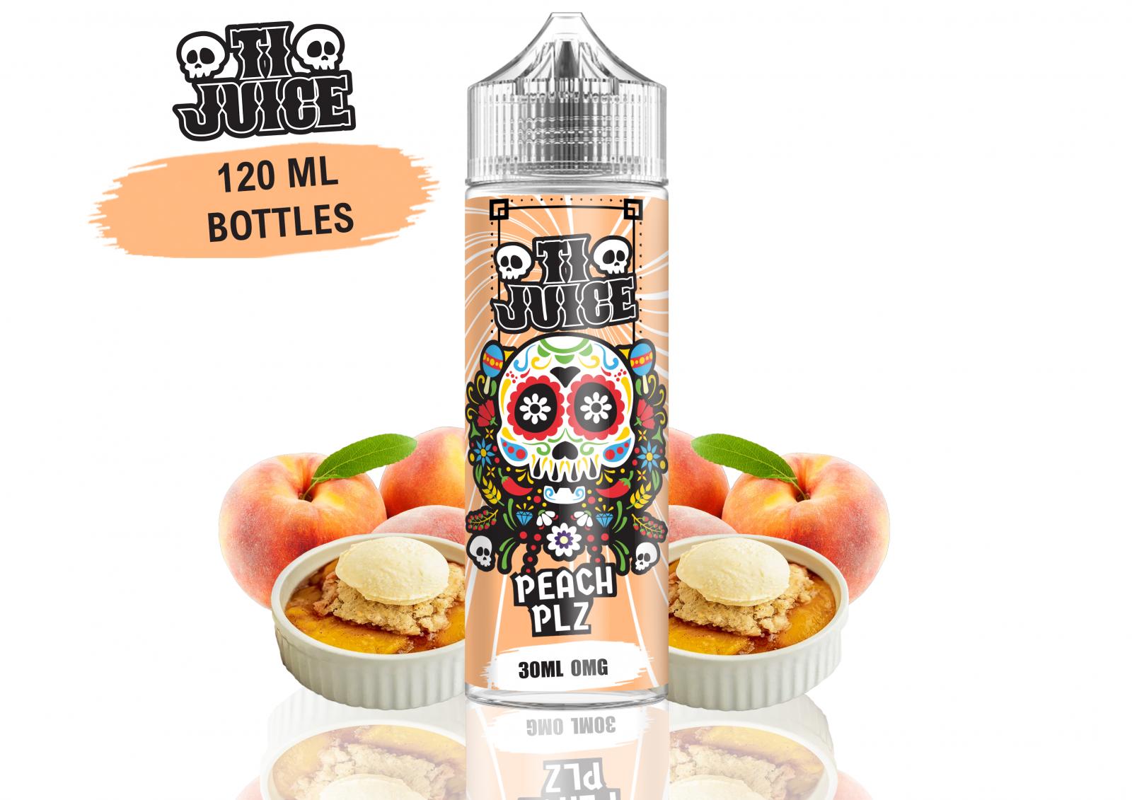 PEACH PLZ - 120ml - TI Juice shake & vape