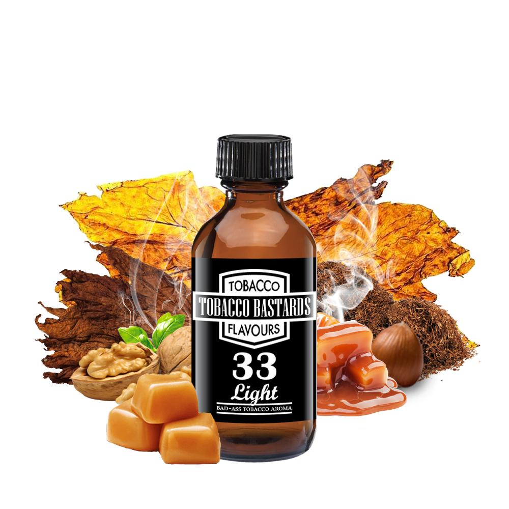 Tobacco Bastards No.33 LIGHT TOBACCO - Aroma Flavormonks