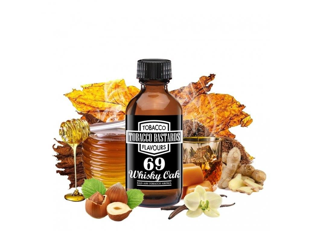 Tobacco Bastards No.69 WHISKEY OAK - Aroma Flavormonks