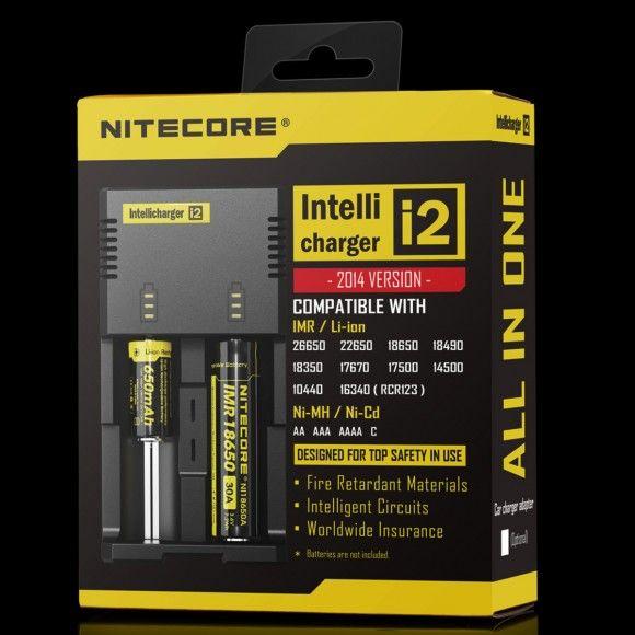 Nitecore i2 intelligent charger 2 slot SYSMAX Industry Co., Ltd.