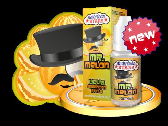 MR. MELON - e-liquid American Stars 10ml Flavourtec