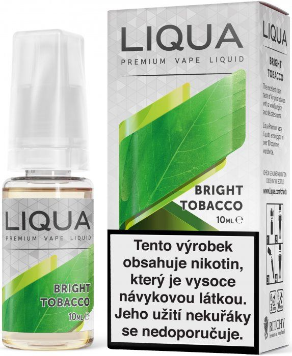 Bright Tobacco - e-liquid LIQUA Elements 10 ml