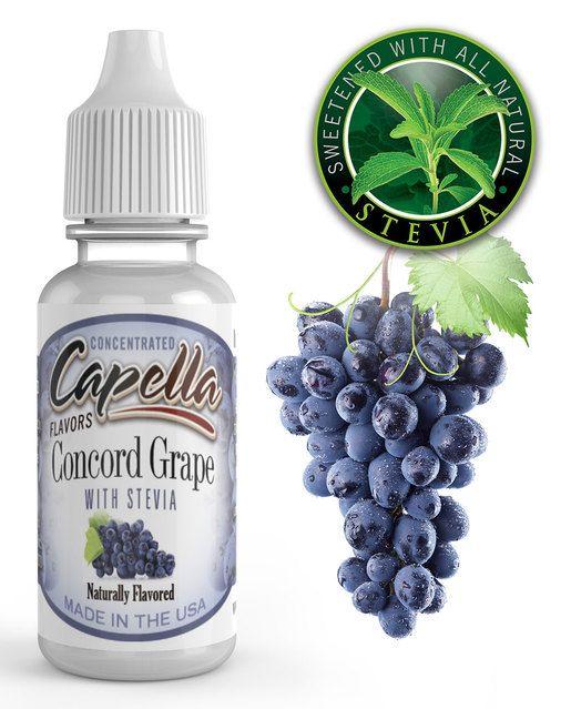 Concord Grape with Stevia - Flavors Capella 13ml
