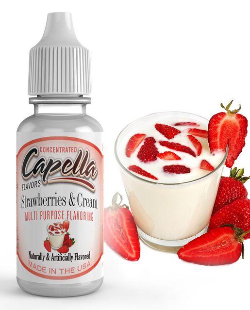 Strawberries & Cream - Flavors Capella 13ml