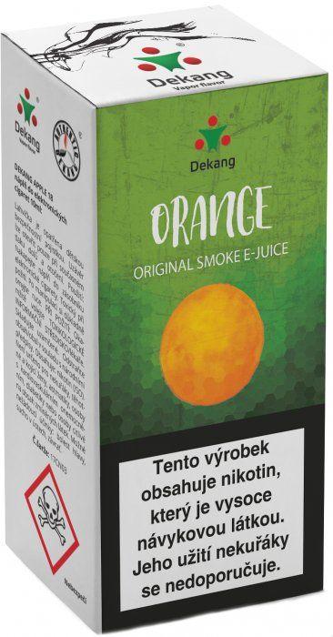 Orange - DEKANG Classic 10 ml