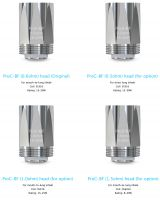 Heating Head Joyetech ProC-BF for CuAIO / Cubis 2 | 0,5 ohm, 0,6 ohm, 1,0 ohm, 1,5 ohm