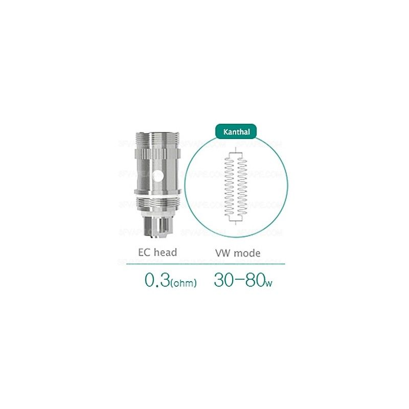 Replacement heating head for eLeaf iJust 2 / Melo 2 - EC iSmoka - Eleaf